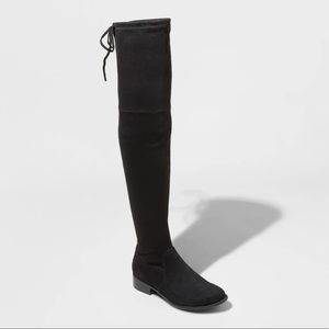 Brand New over the knee black boots